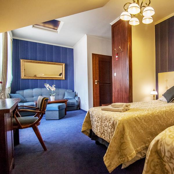pokój 3 osobowy rzeszów hotel fryderyk 1